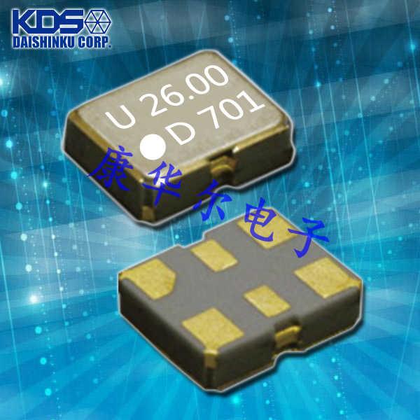 KDS晶振,温补晶振,DSB211SDT晶振,OSC六脚晶振