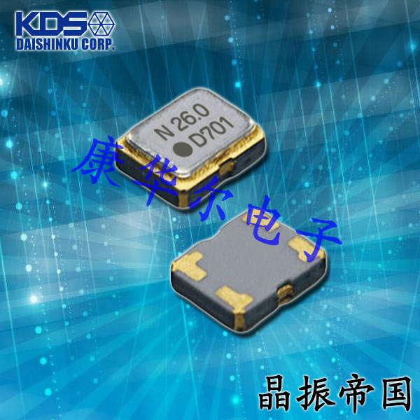 KDS晶振,温补晶振,DSB211SDN晶振,贴片石英晶振