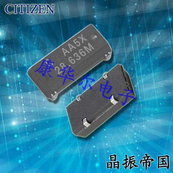 CITIZEN晶振,贴片晶振,CM309E晶振,通信机器晶振
