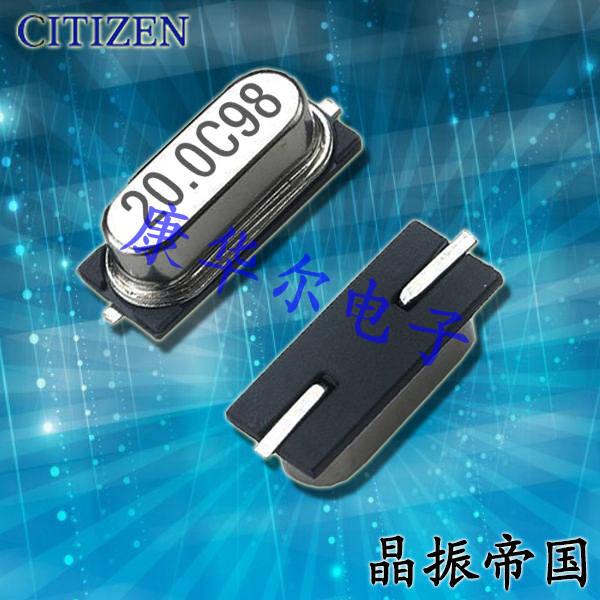 西铁城晶振,石英晶振,HCM49晶振,49SMD晶振