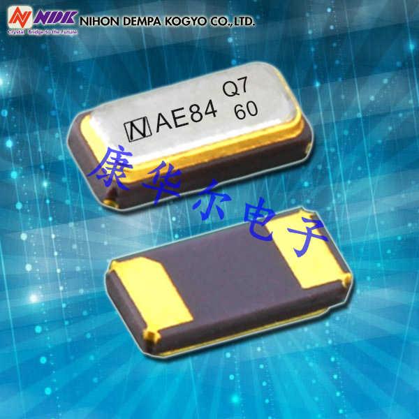 NDK晶振,贴片晶振,NX2012SE晶振,金属面2012晶振