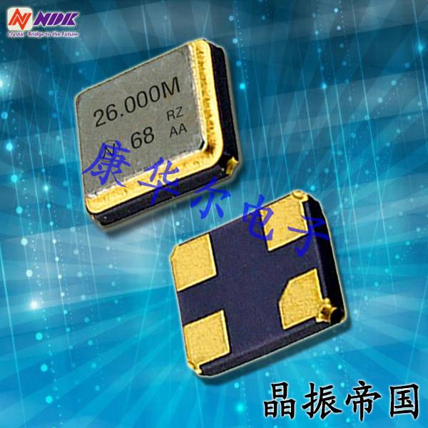 NDK晶振,贴片晶振,NX1612SA晶振,贴片无源晶振