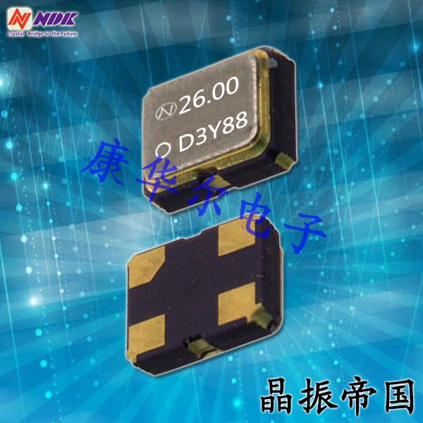 NDK晶振,有源晶振,NZ2016SF晶振,移动设备晶振
