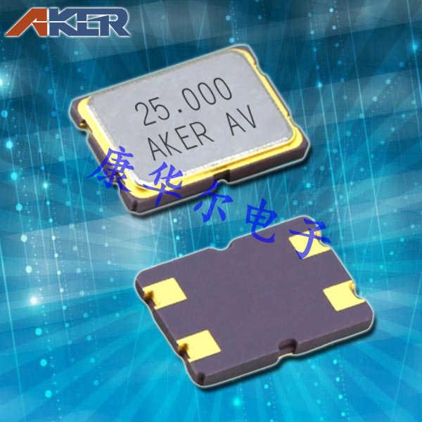 AKER晶振,贴片晶振,CXAF-751晶振,7050石英晶体