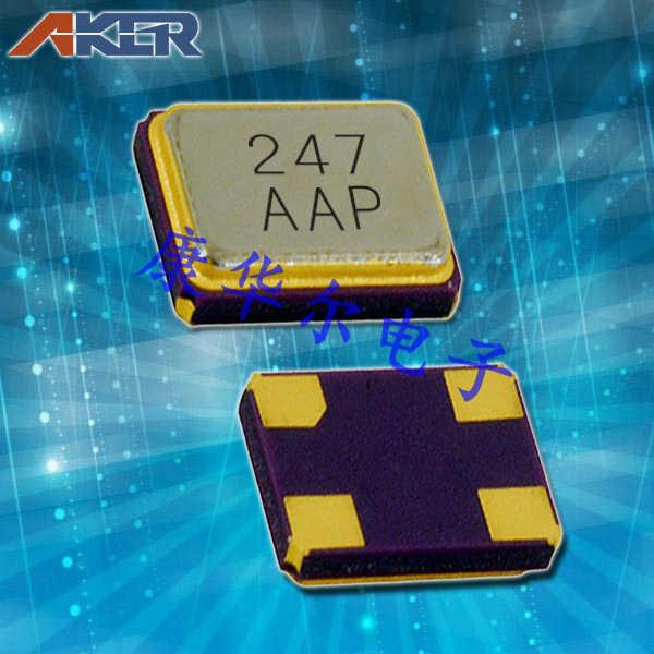 AKER晶振,贴片晶振,CXAF-211晶振,无线通讯设备晶振