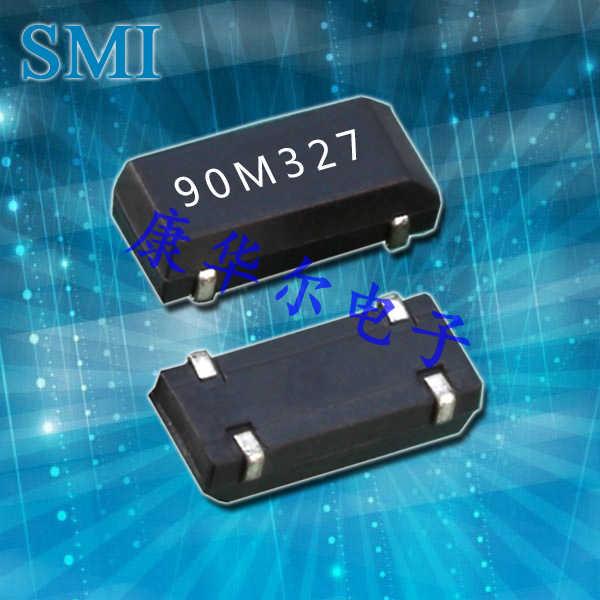 SMI晶振,贴片晶振,90SMX(N)晶振,陶瓷面石英晶体
