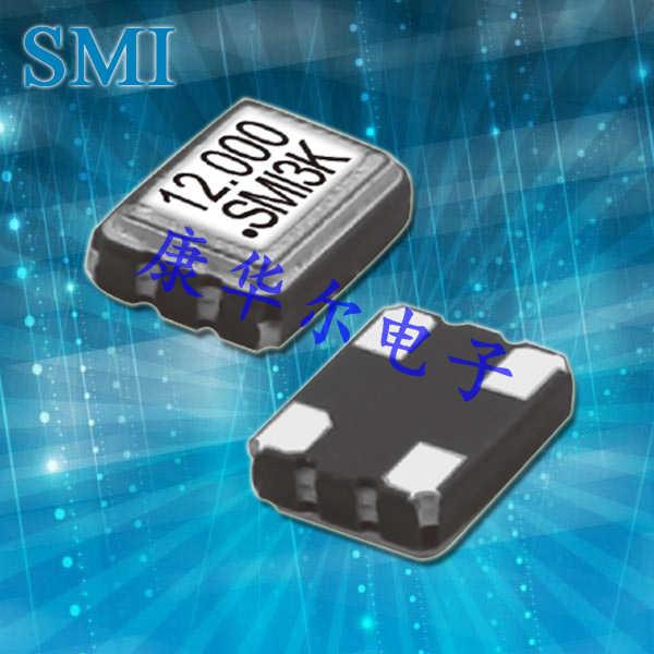 SMI晶振,压控晶振,32SMOVD晶振,可穿戴设备晶振