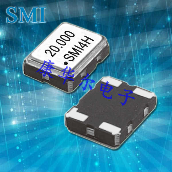 SMI晶振,温补晶振,SXO-3200HGV晶振,金属面四脚贴片晶振